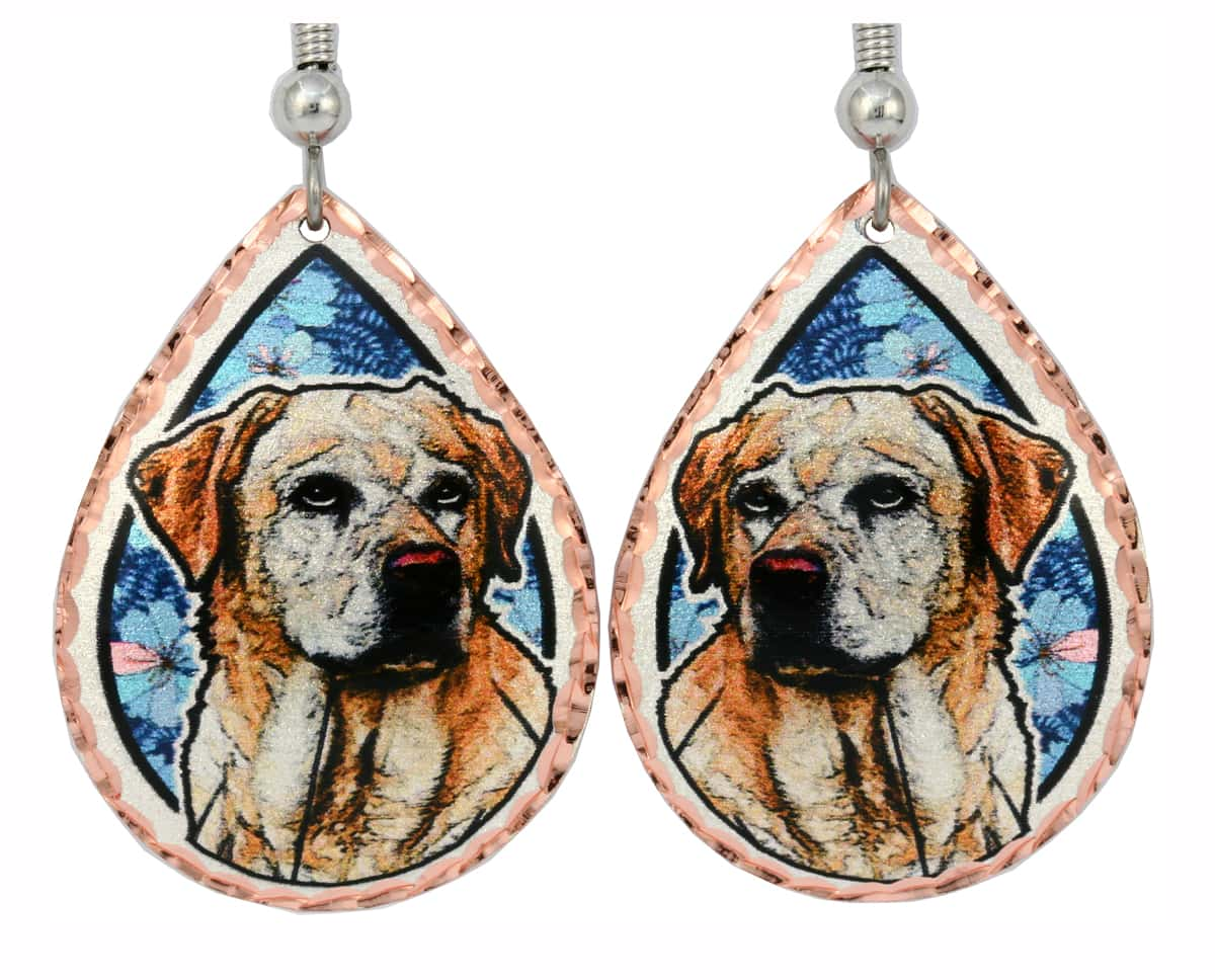 Beautiful Labrador Retriever Earrings