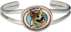 Cardigan Welsh Corgis Bracelets, Attractive Dog Jewelry