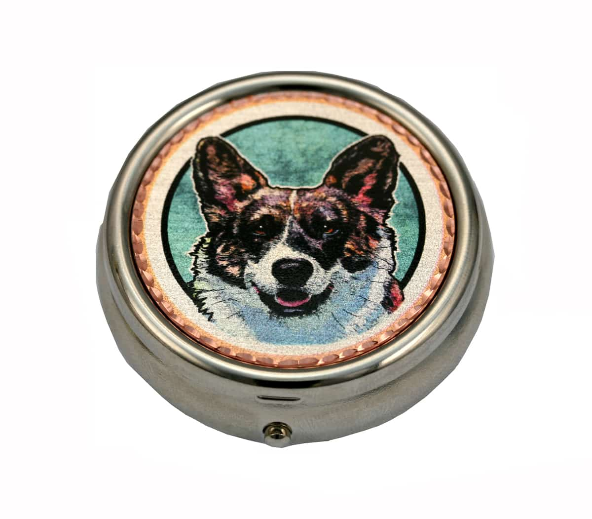 Cardigan Welsh Corgis Dog Gifts Pill Boxes