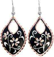 Cut Out Floral Earrings