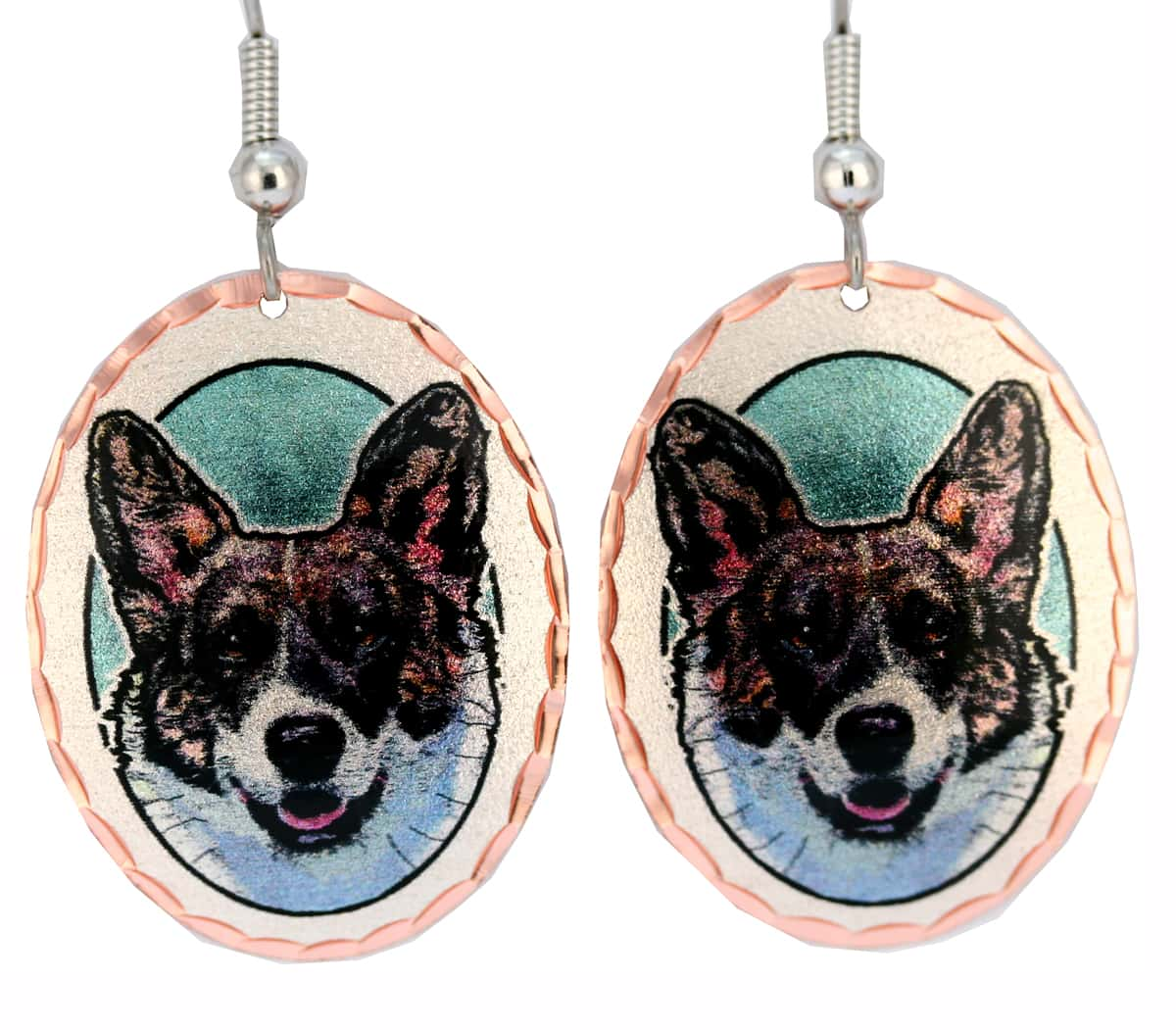 Cardigan Welsh Corgis Earrings