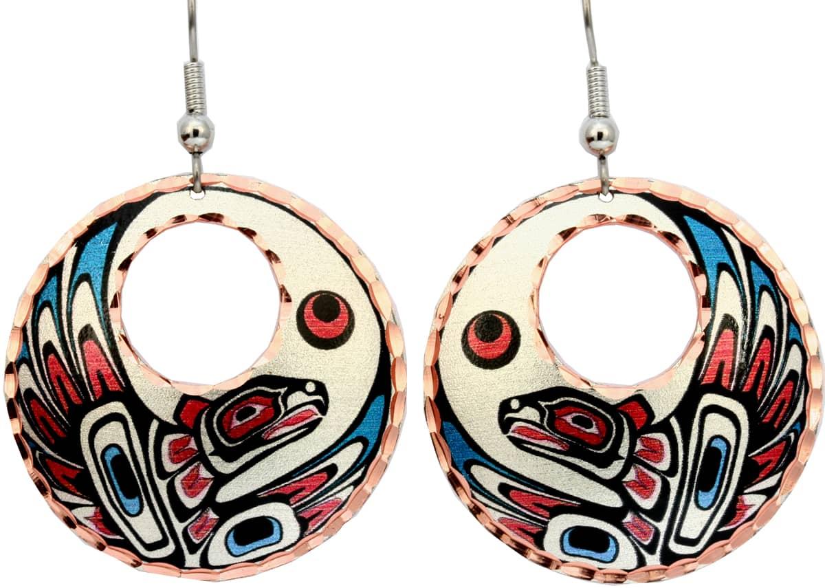 Alaska Eagle Earrings