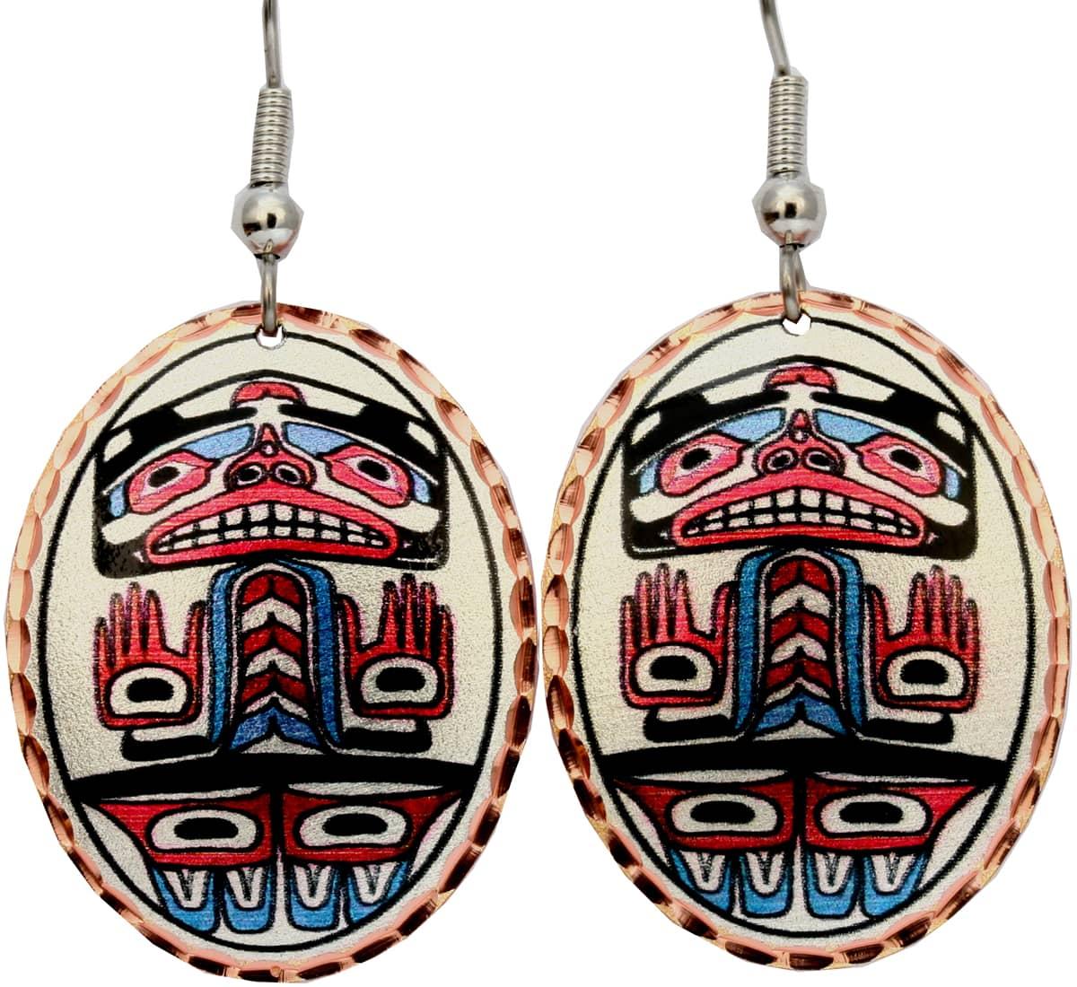 Alaska Human Earrings