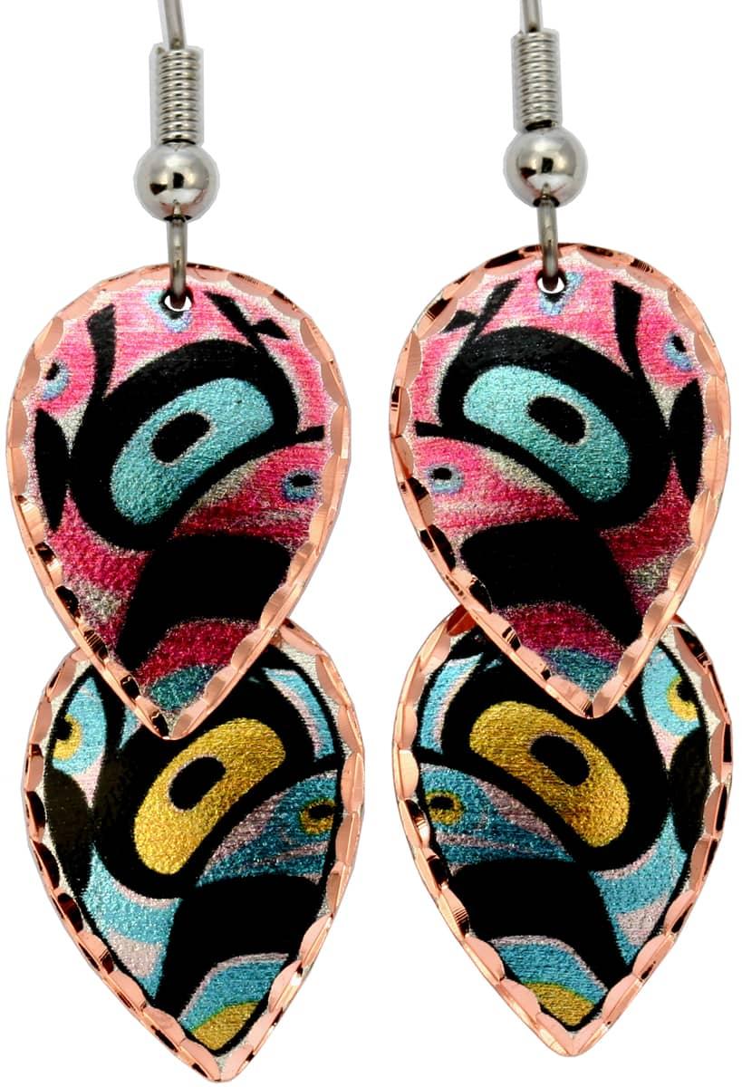 Alaska Native Dangle Earrings