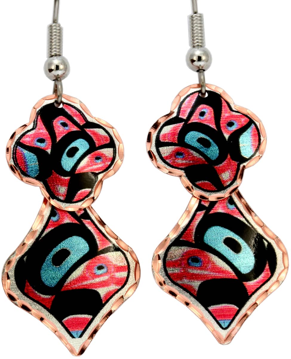 Alaska Native Dangle Earrings