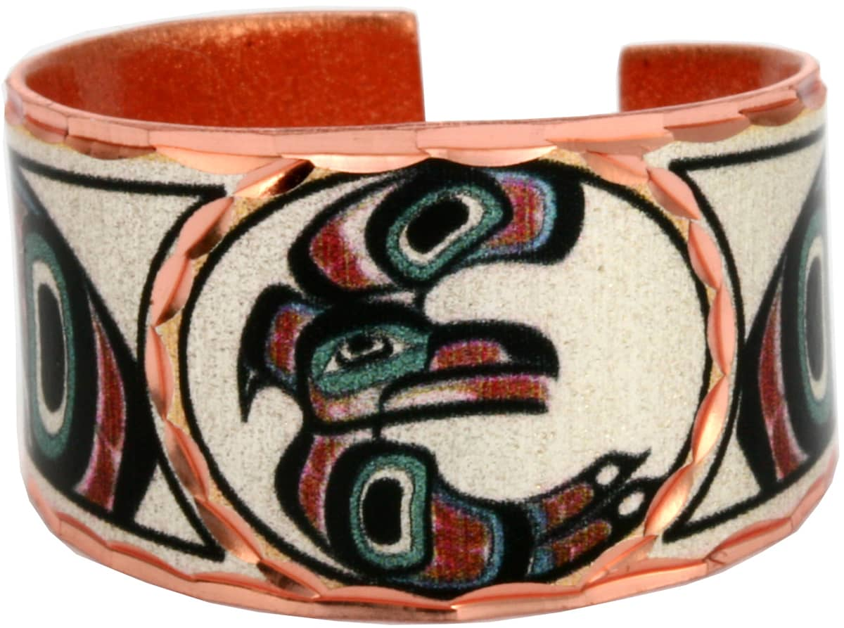 NW Native Indian Eagle Rings