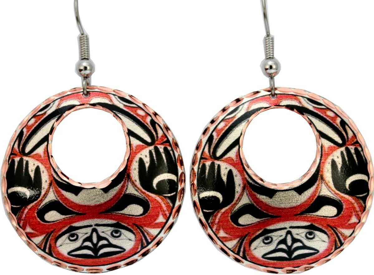 Alaska Native Human Earrings
