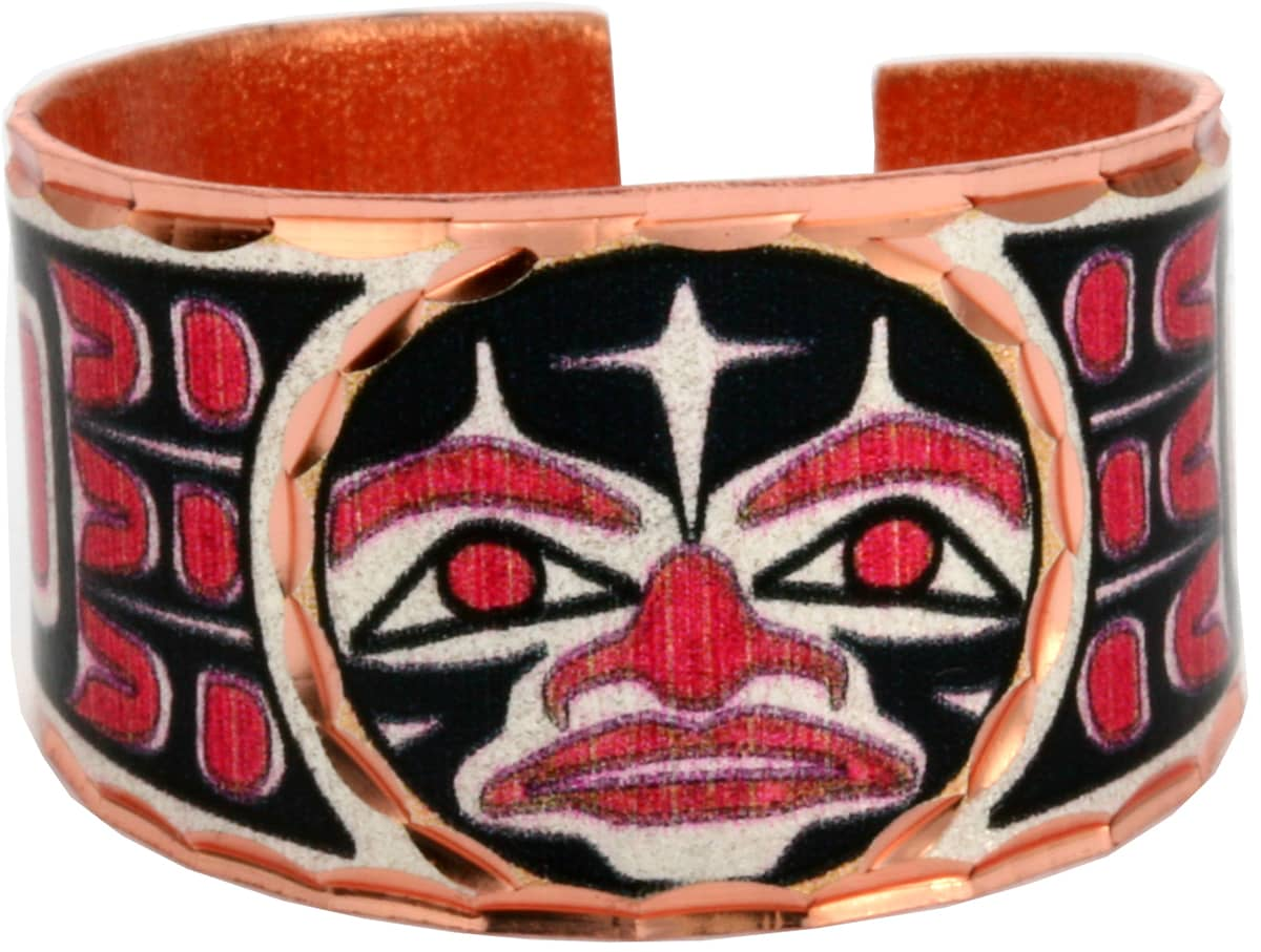 NW Native American Sun Totem Rings