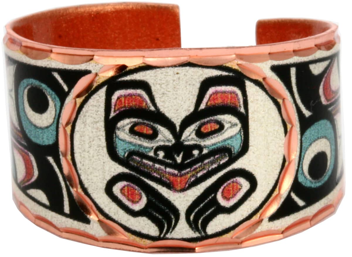 NW Native American Wolf Rings