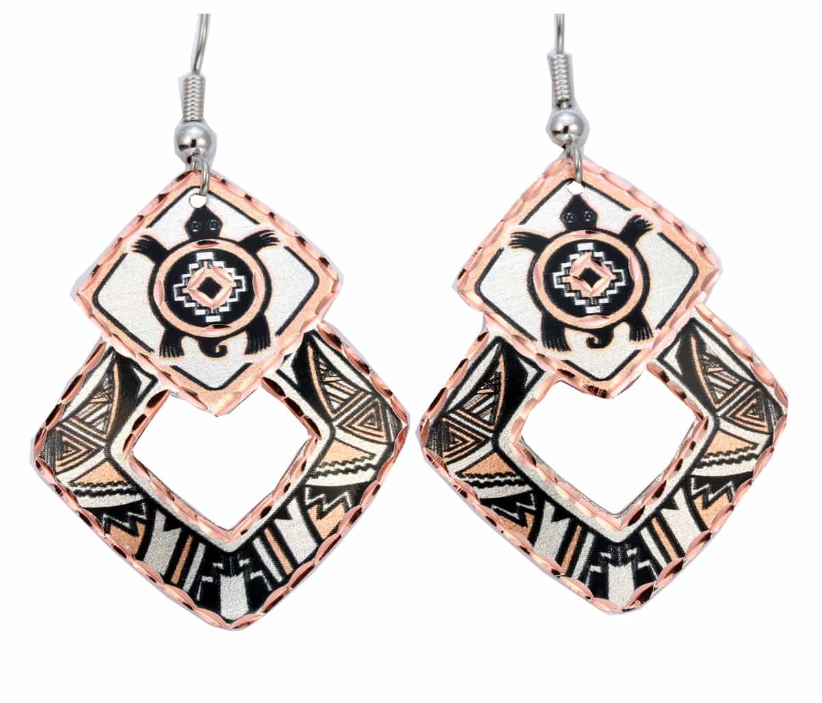 Native Turtle Earrings