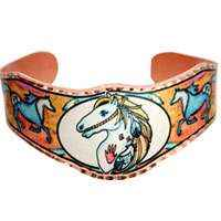 Native Bracelets by Lynn Bean