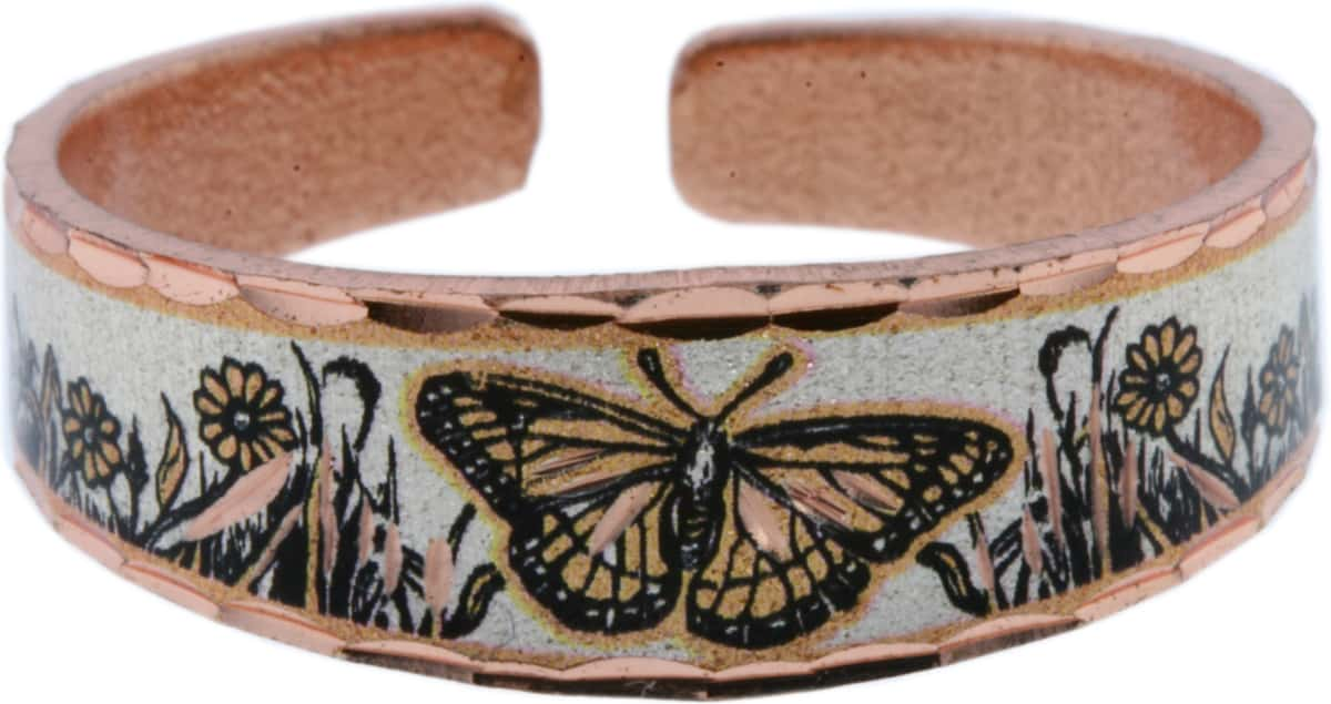 Unique rings handmade in Pretty Butterfly Design