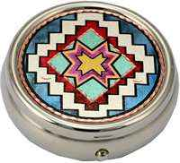 Colorful Native Pill Boxes
