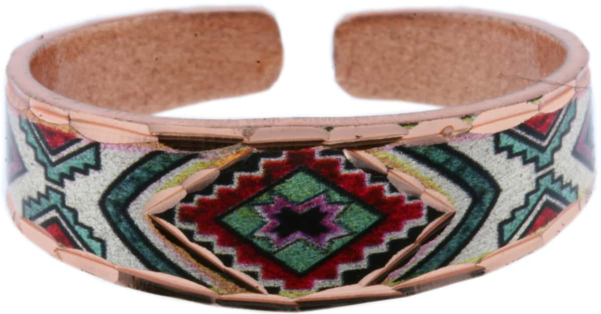 Colorful SW Native American Art Rings