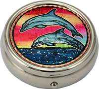 Dolphins Pill Boxes