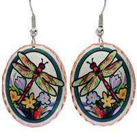 Butterfly Dragonfly Earrings