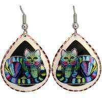 Art Jewelry Earrings Designed by Nick Gustafson