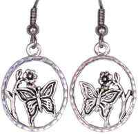 Wholesale Fashion Jewelry Earrings, Cut Out Butterfly Earrings