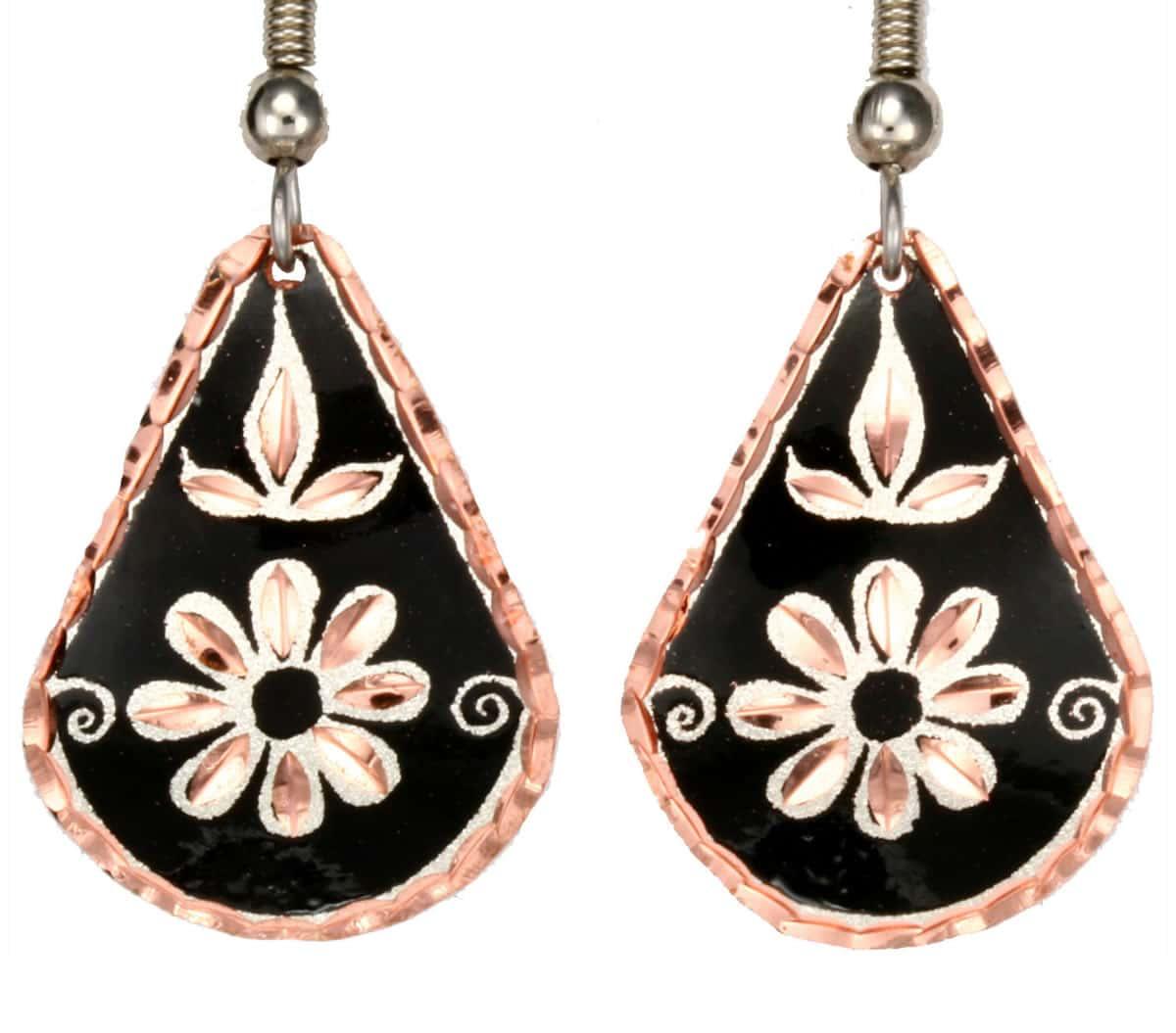 Wholesale Flower Jewelry Earrings