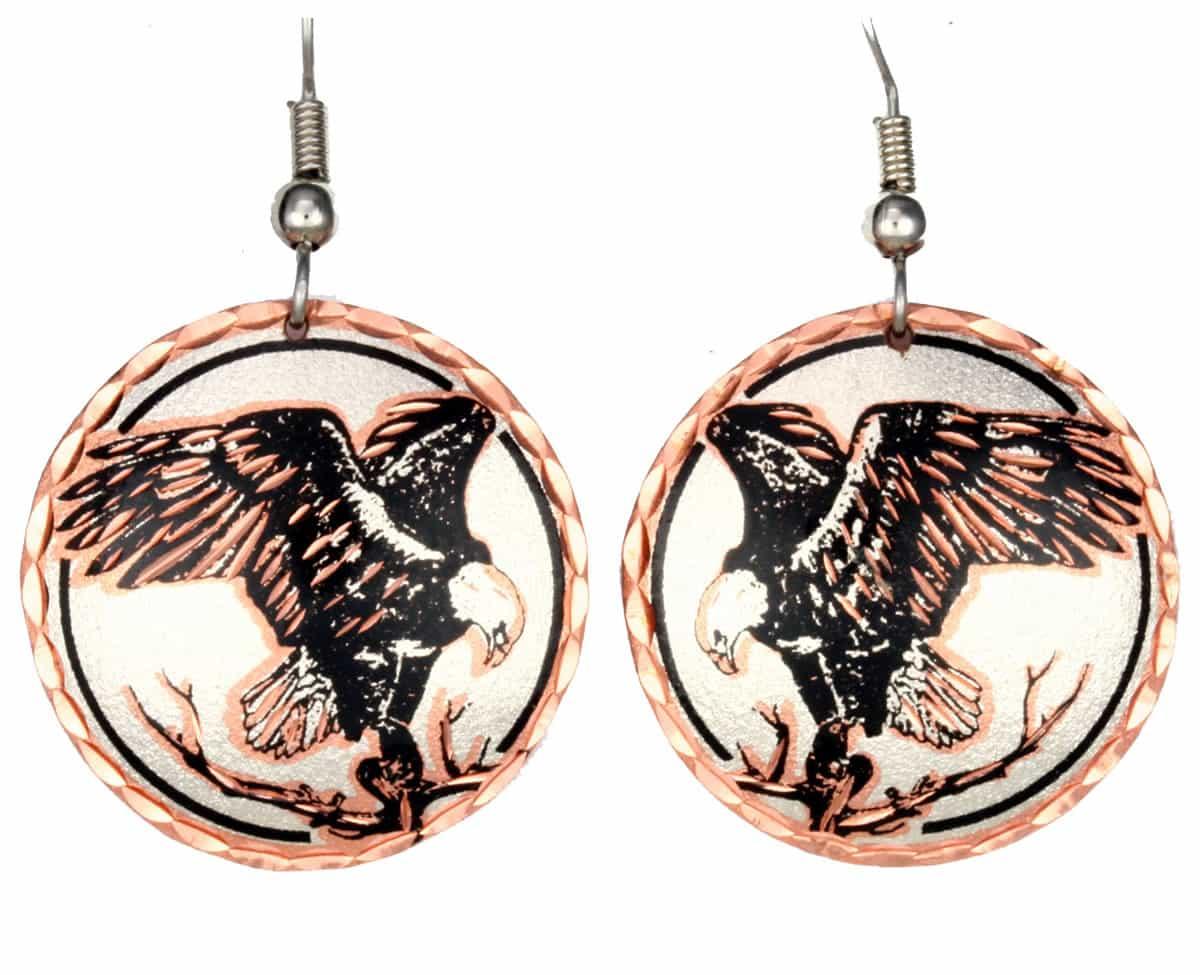 Handmade American Eagle Earrings
