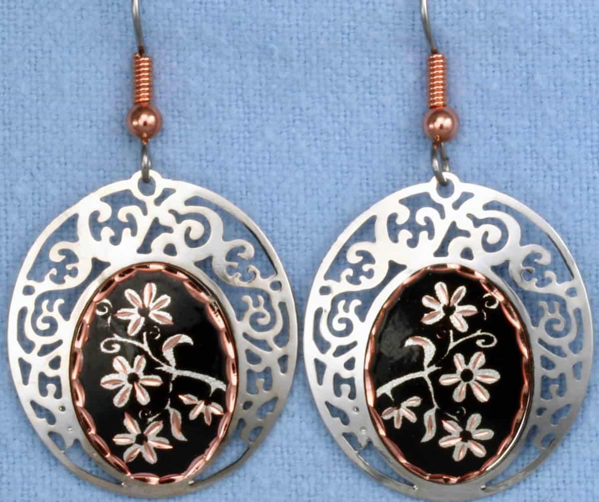 Flower Earrings, Handcrafted Unique Earrings