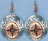 SW Native Earrings Handcrafted in 4 Elements Design