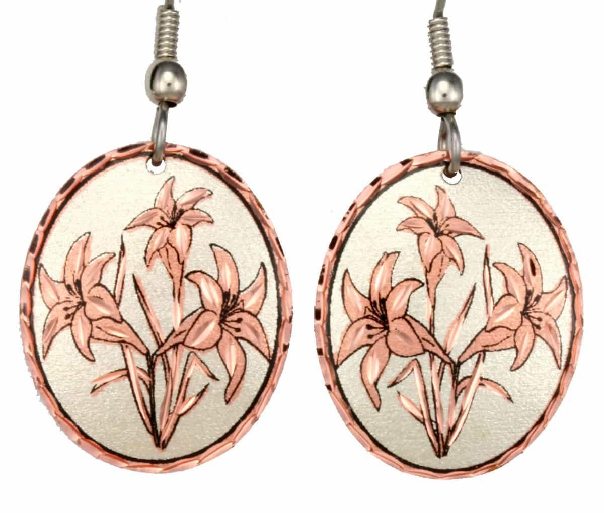 Flower Lilies Earrings