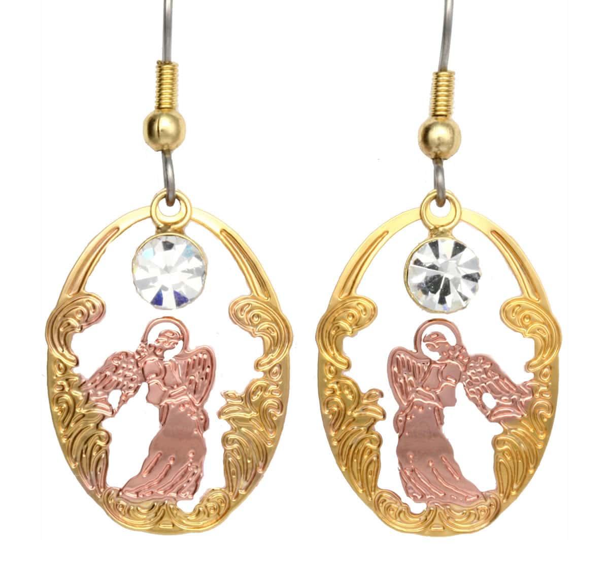 Angel Cutout Earrings