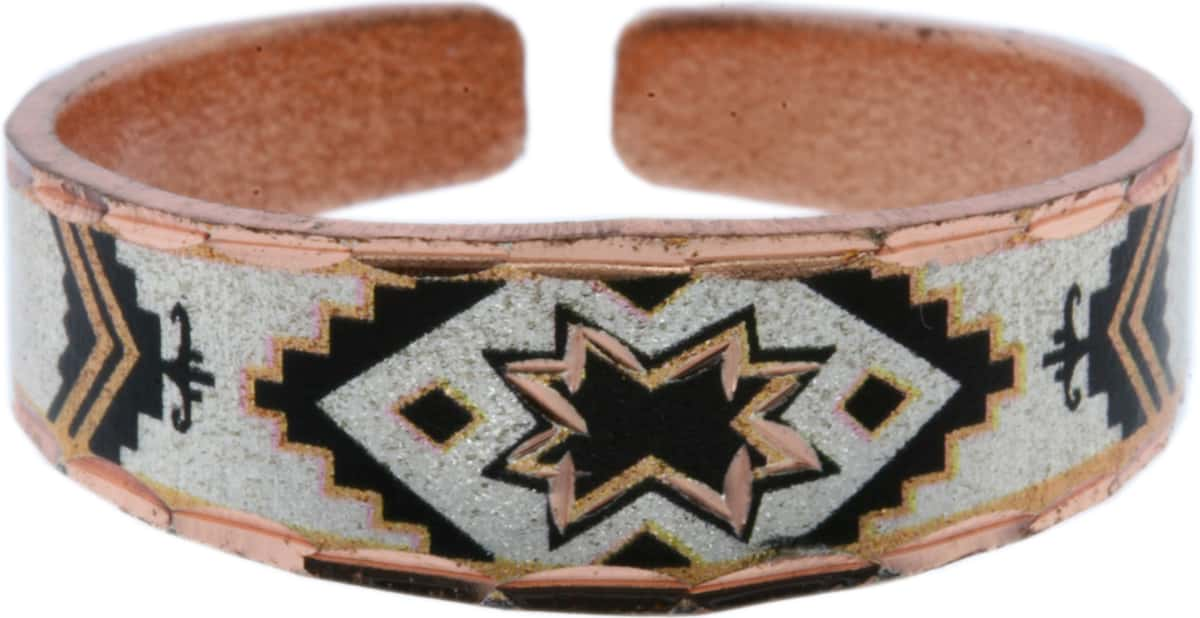 Handcrafted SW Native American Copper Rings