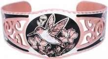 Filigree Style Handmade Hummingbird Bracelets
