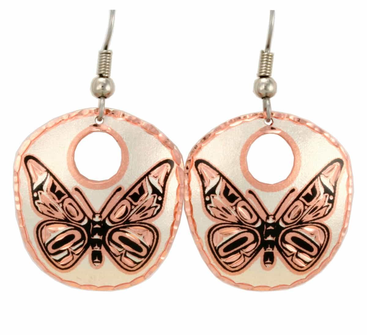 Haida Butterfly Earrings