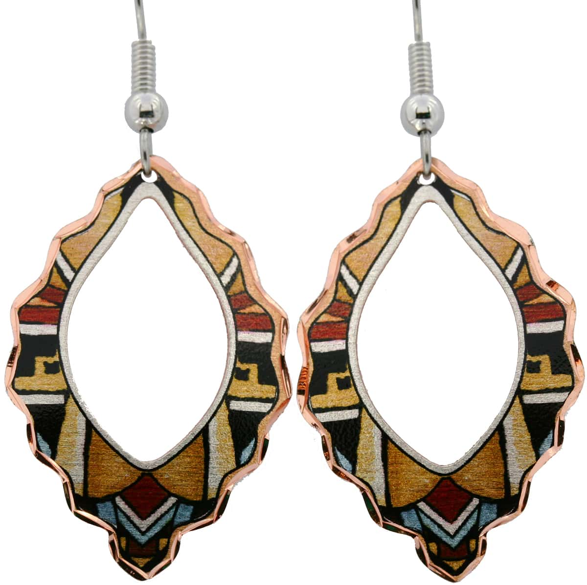 Hopi Indians SW Native American Earrings