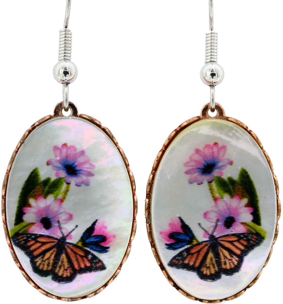 Shell Butterfly Earrings