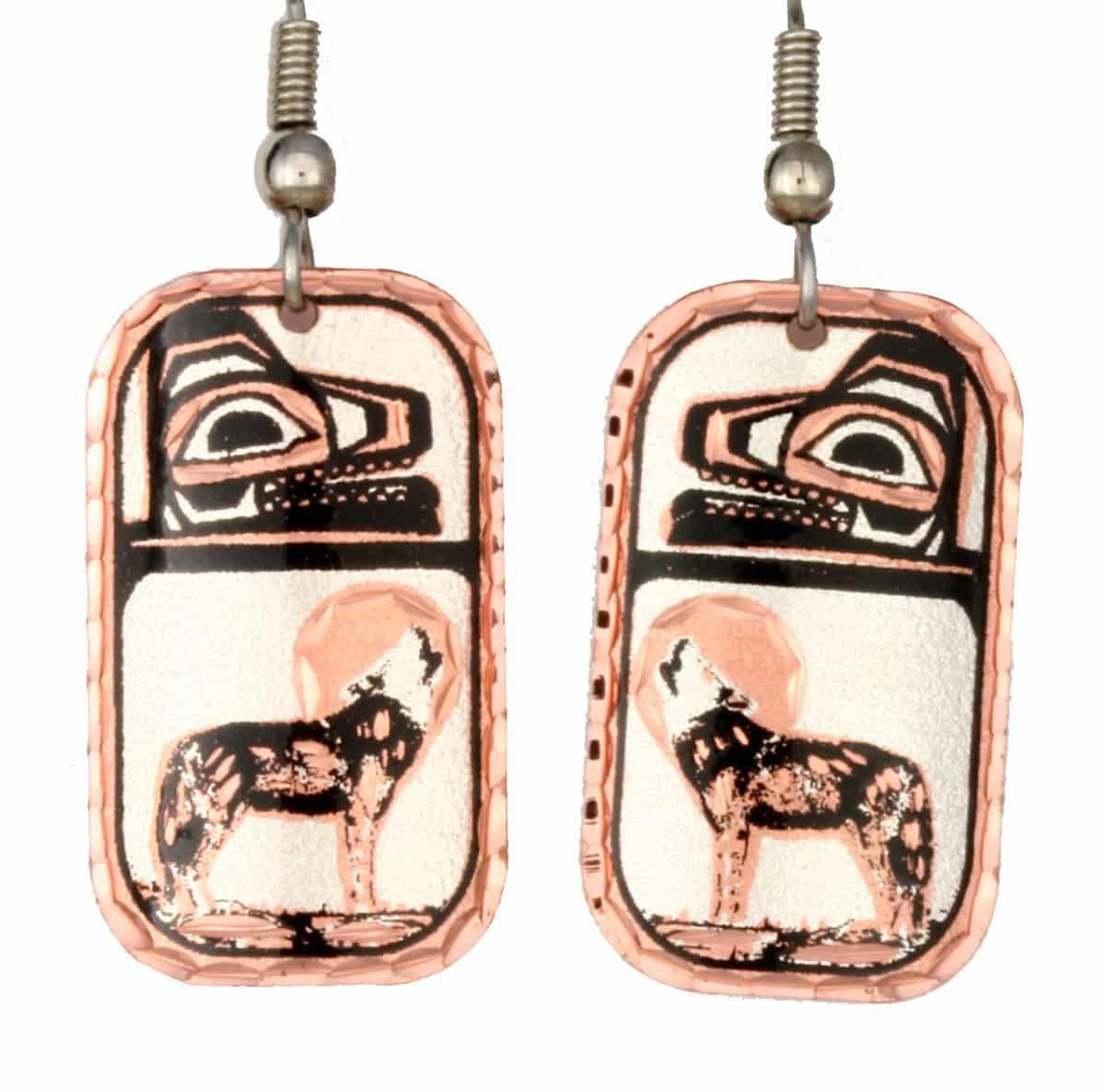 Wolf Totem Earrings