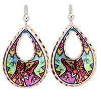 Native Earrings by Lynn Bean