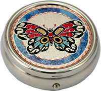 Canadian Native Butterfly Pill Containers