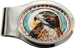 Red-tailed Hawk Money Clip