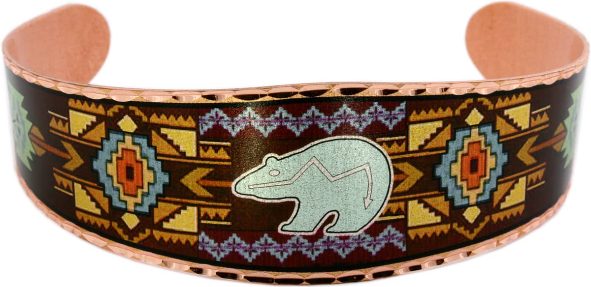 SW Native American Bear Bracelet in Charming Design and Colors
