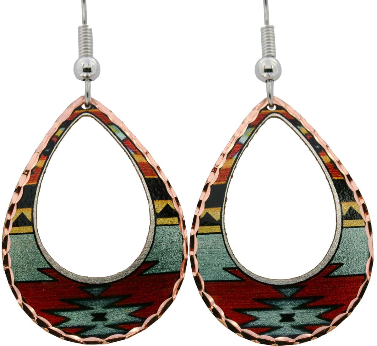 Teardrop SW Native American Earrings