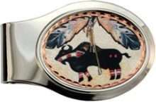 SW Native Buffalo Money Clip