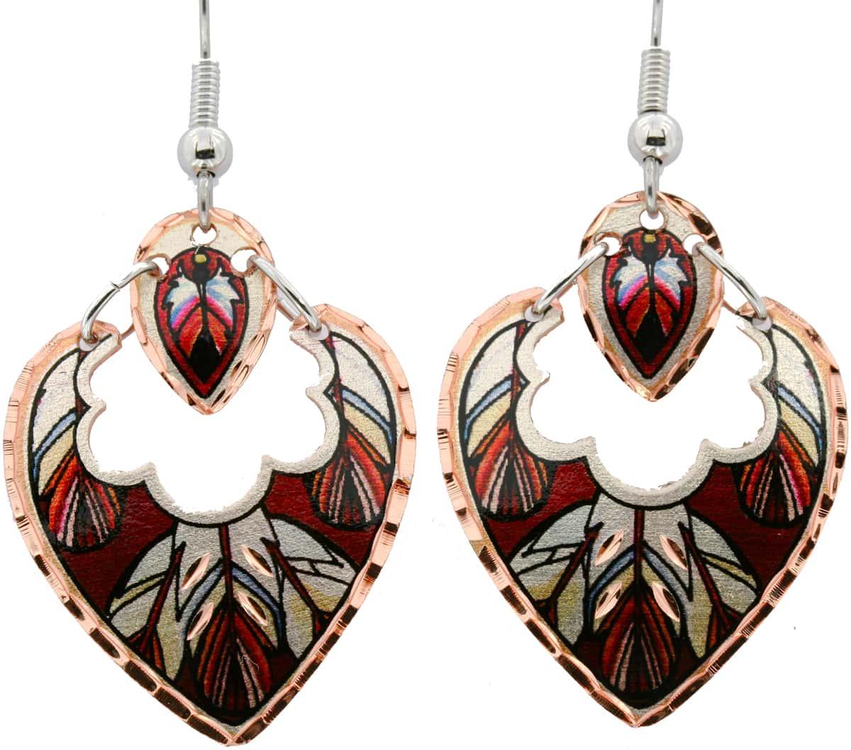 SW Native American Dangle Earrings