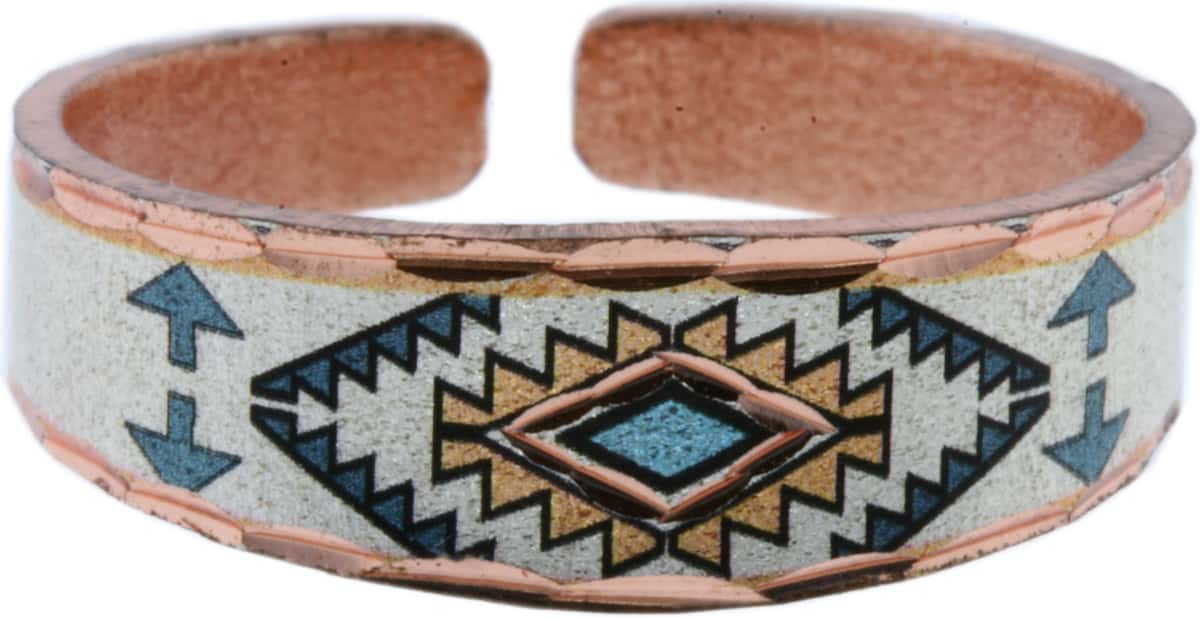 Teal Blue SW Native Handcrafted Rings