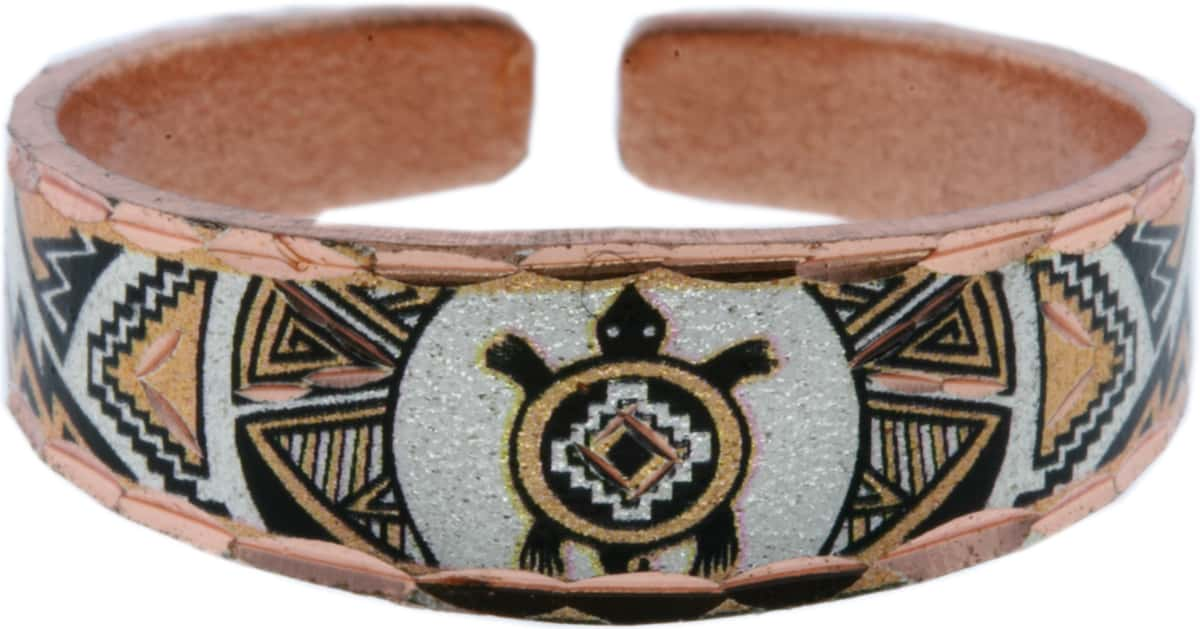 SW Native Indian Turtle Handcrafted Rings