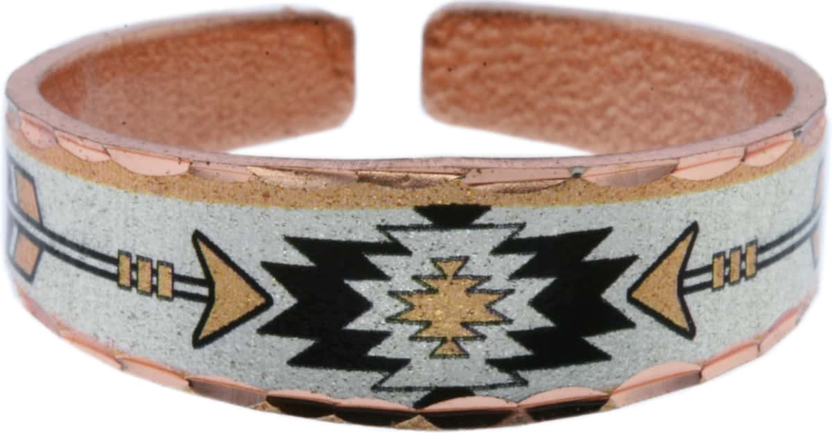 Wholesale SW Native American Copper Rings