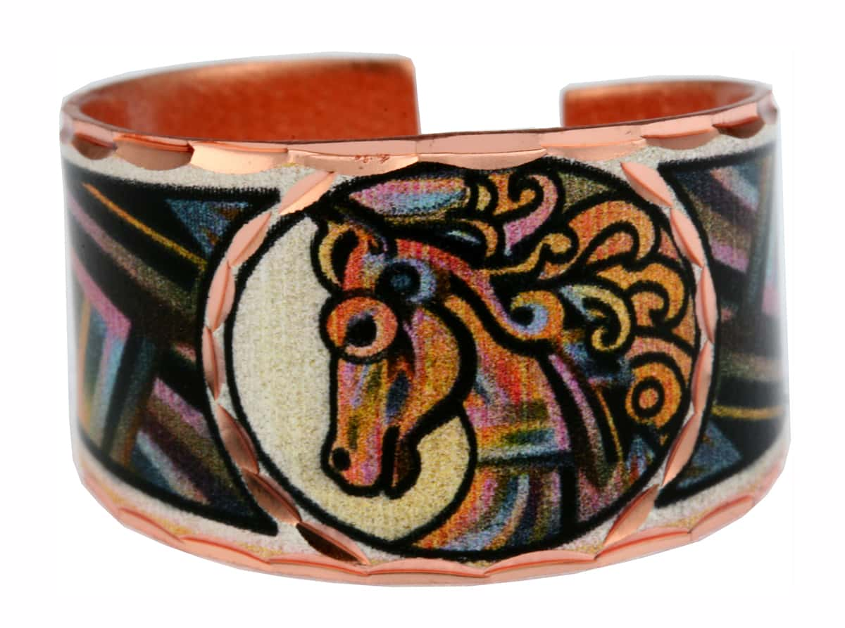 Caballo horse rings designed by Bob Coonts