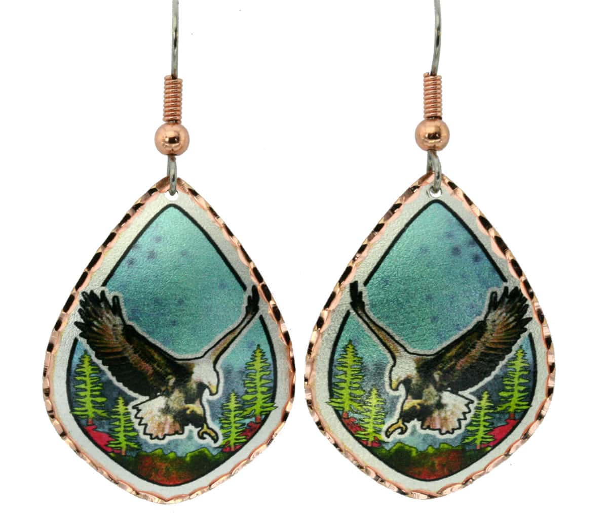 Animal Wholesale Jewelry, Eagle Earrings