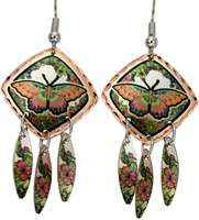 Treat yourself to these magnificent butterfly earrings will take everyones's breath away