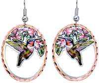 Cut Out Hummingbird Earrings