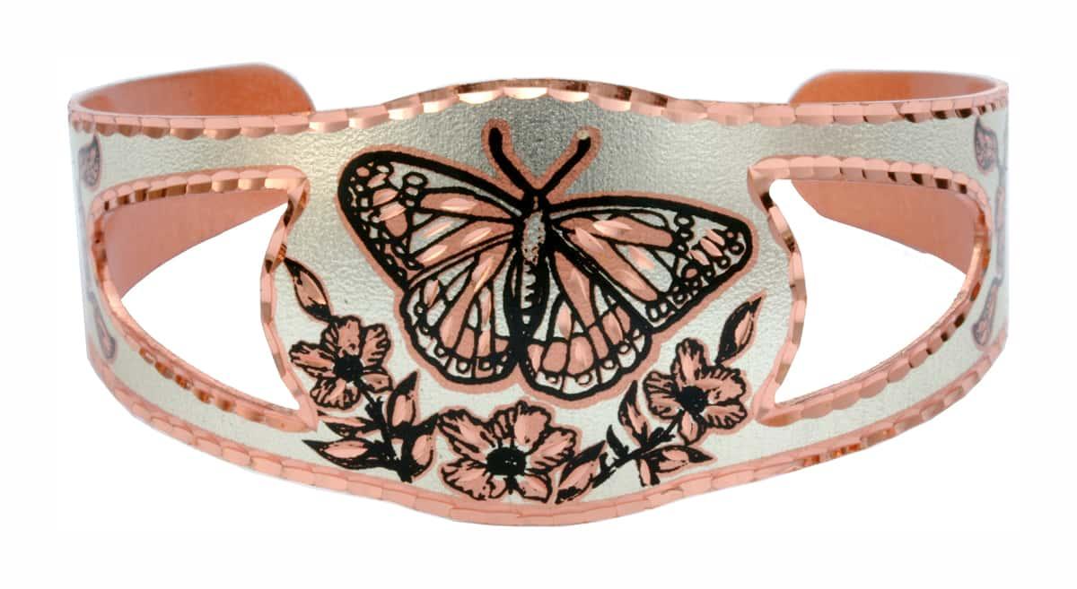 Handmade Bracelets Monarch Butterfly for Women