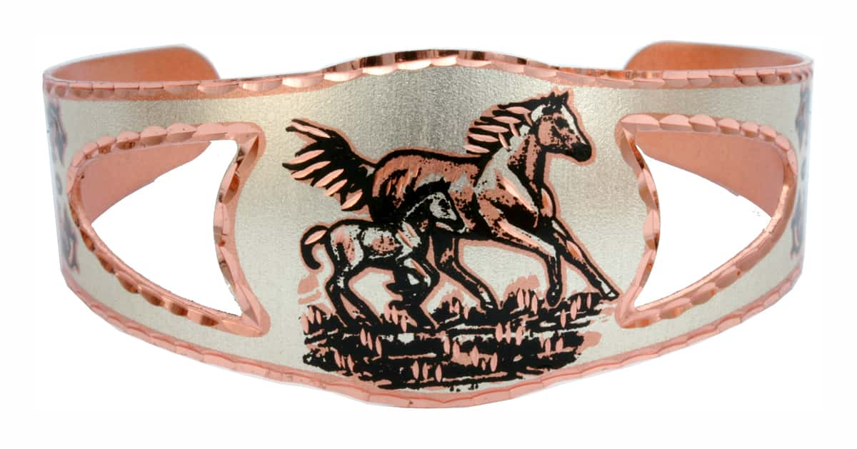 Horse and Foal Bracelets, Western Horse Jewelry Wholesale